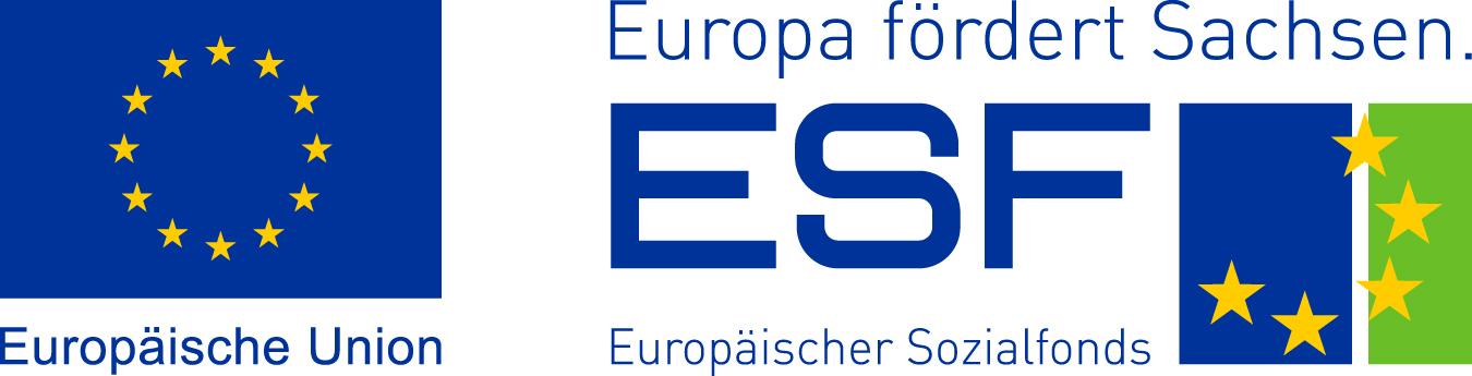 Europäische Union, Europa fördert Sachsen, ESF, Europäischer Sozialfonds