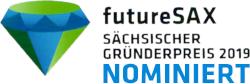 Nominiert für den futureSax Gründerpreis 2019